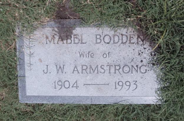 Mabel <i>Bodden</i> Armstrong