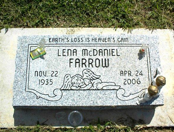 Lena <i>McDaniel</i> Farrow