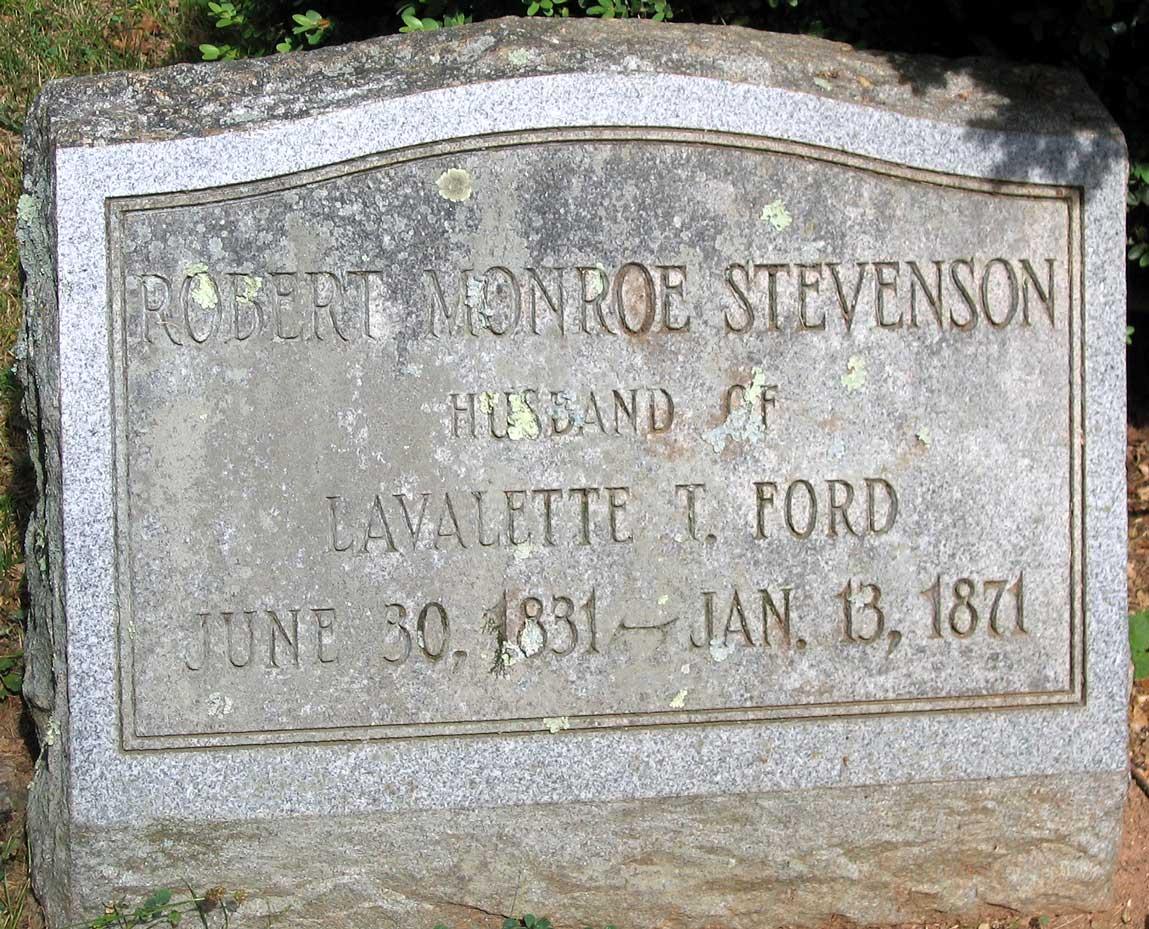 Robert Monroe Stevenson