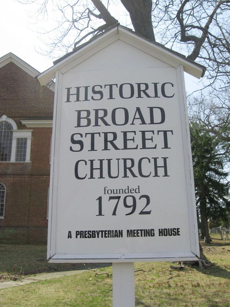 Old Broad Street Presbyterian Church Cemetery