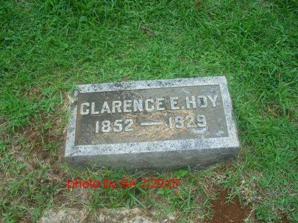 Clarence E. Hoy