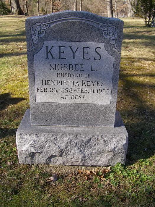 Sigsbee Lee Keyes