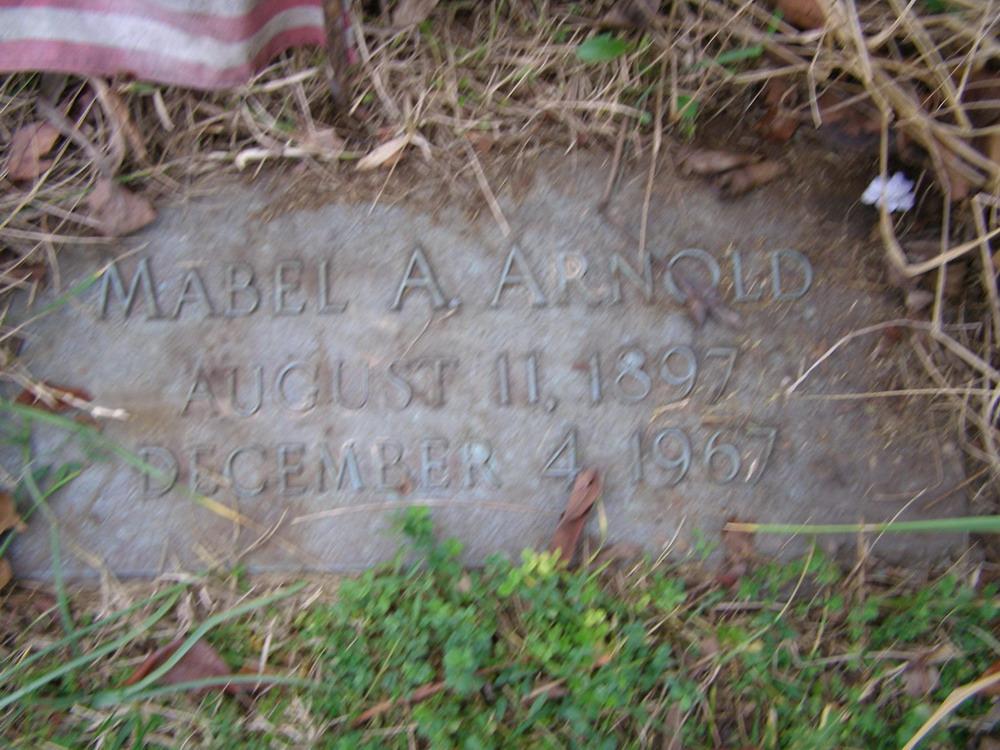 Mabel Agnes <i>Bailey</i> Arnold