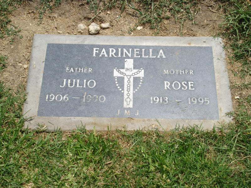 Rose Marie Faiella Farinella 1913 1995 Find A Grave Memorial