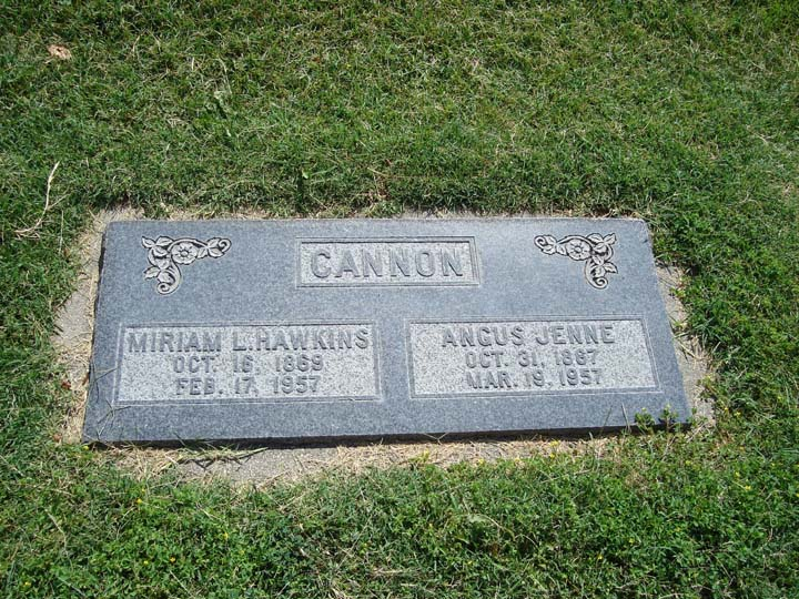 Angus Jenne Cannon