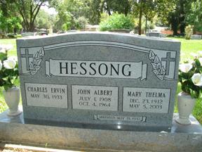Mary Thelma <i>Hollub Hessong</i> Ellis