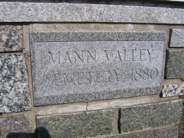 Mann Valley Cemetery
