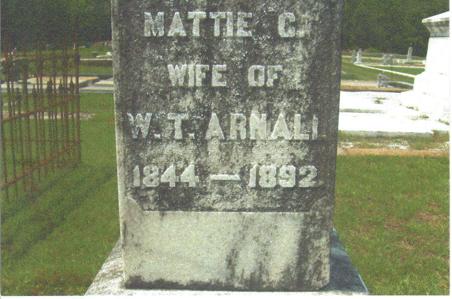 Martha G Mattie <i>Couch</i> Arnall