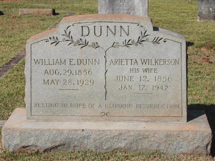 Arietta <i>Wilkerson</i> Dunn