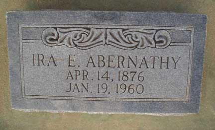 Ira Elbert Abernathy