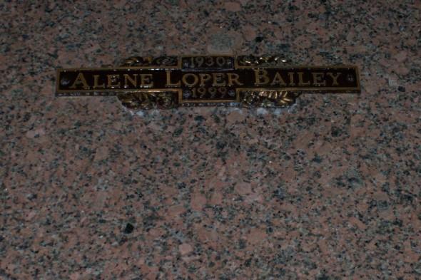 Thelma Alene Tuddy <i>Loper</i> Bailey
