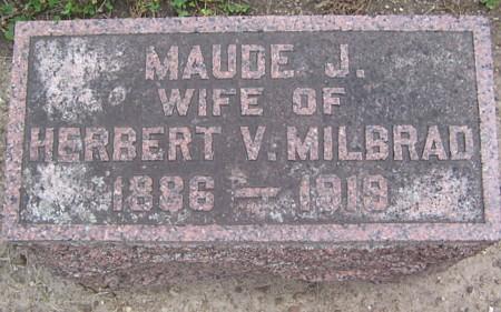Maude Jeanette <i>Beckwith</i> Milbrad