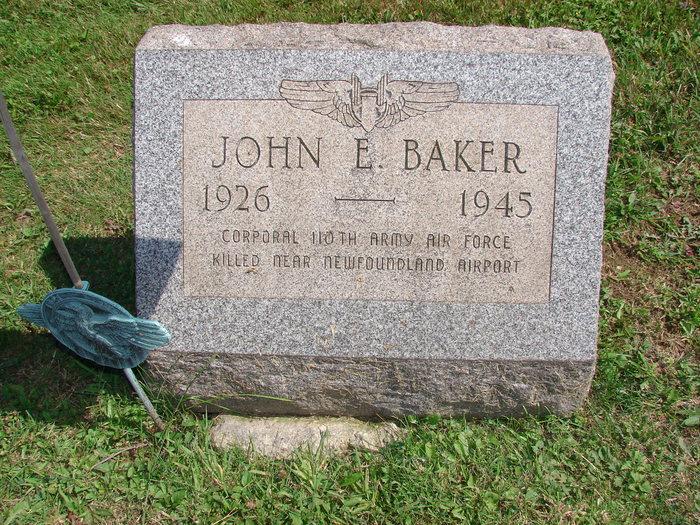 Corp John E. Baker
