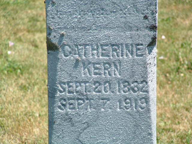 Catherine <i>Amerling</i> Kern
