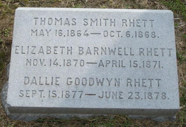 Thomas Smith Rhett (1864-1868) - Find A Grave Memorial