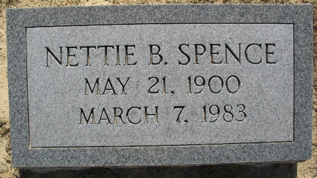 Nettie Frances <i>Bright</i> Spence