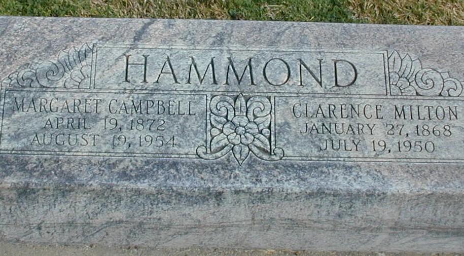 Margaret Elizabeth <i>Campbell</i> Hammond