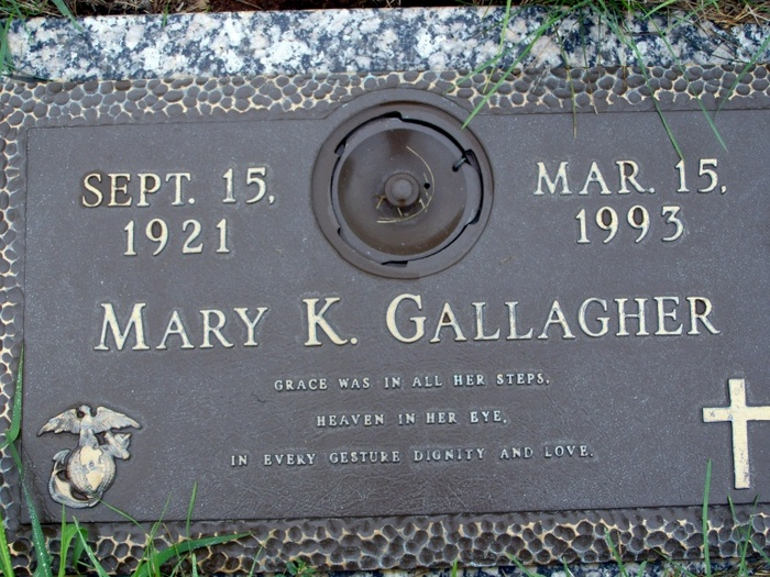 Mary K Gallagher