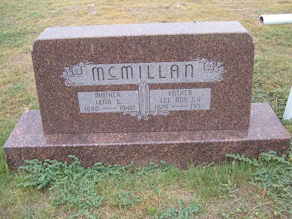 Lena E. <i>Saul</i> McMillan