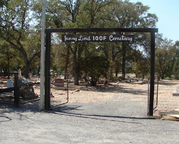Jenny Lind IOOF Cemetery