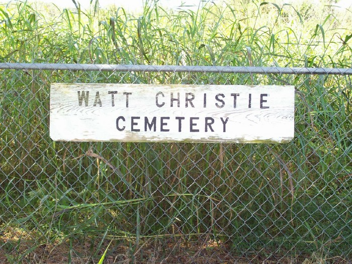 Watt Christie Cemetery