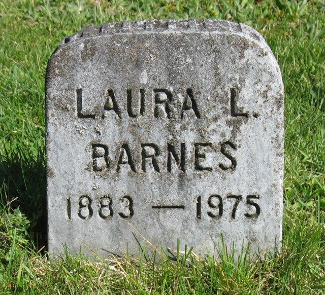 Laura Louise <i>Theobald</i> Barnes