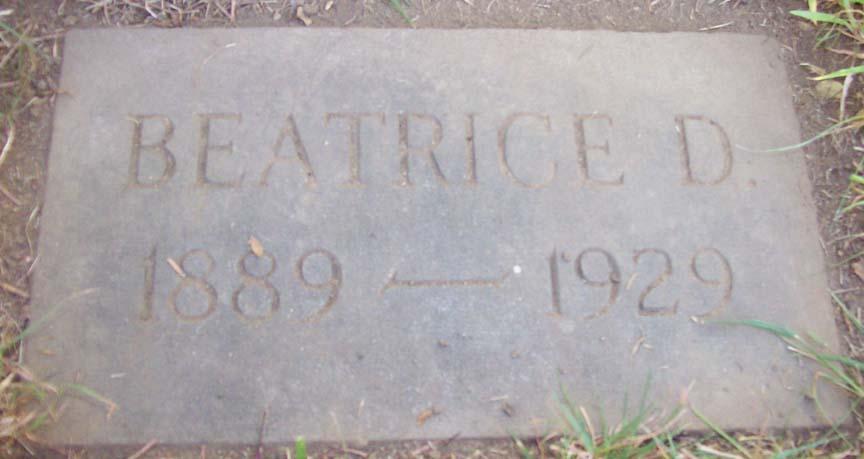 Beatrice T Sargent