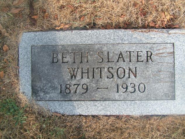 Beth Slater Whitson