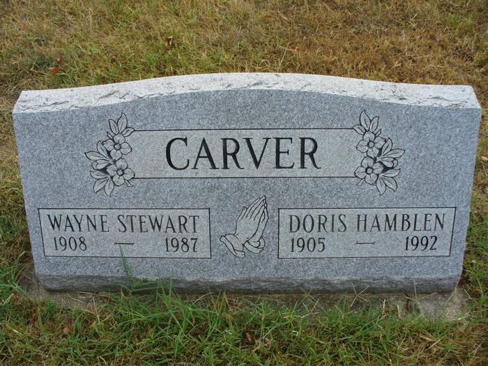 Doris May <i>Hamblen</i> Carver