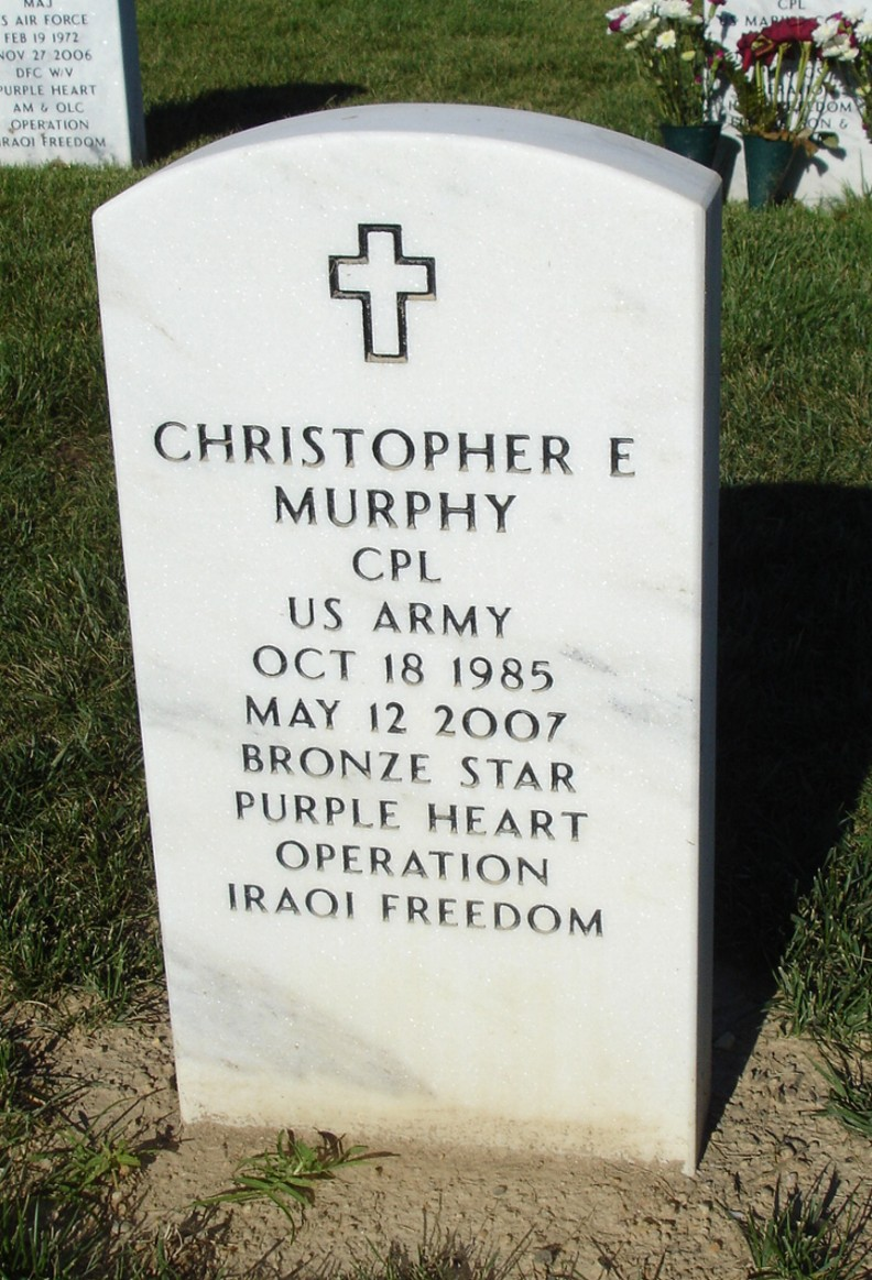 Corp Christopher Edward Murphy