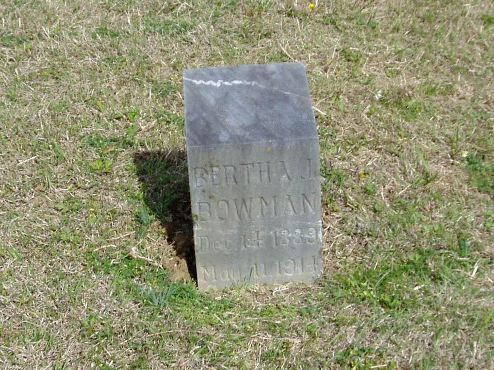 Bertha J. Bowman