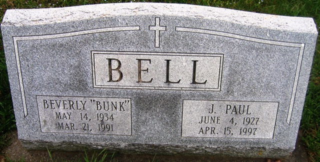Joseph Paul Bell, Sr