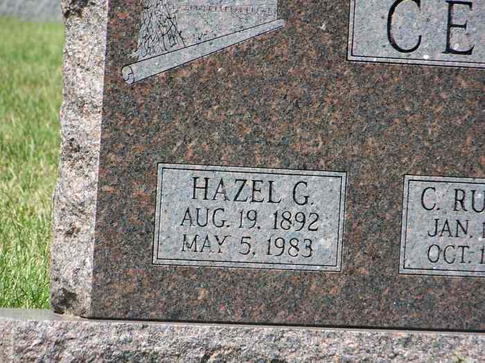 Hazel Grace <i>Silver</i> Cessna
