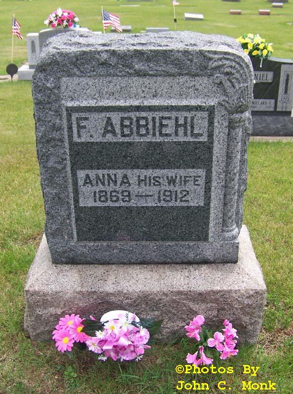 Anna <i>Fore</i> Abbiehl