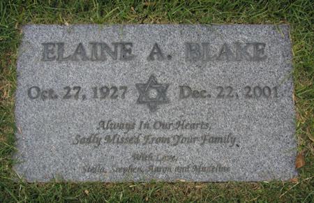 Elaine A. Blake