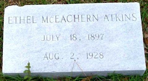 Ethel <i>McEachern</i> Atkins