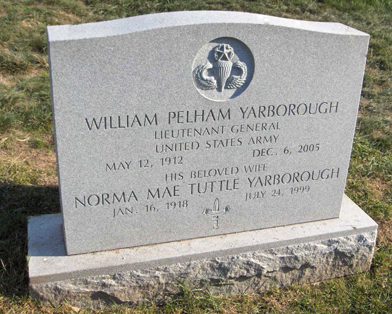 LTG William Pelham Yarborough