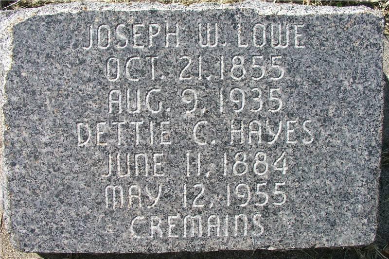 Deseret Doris Dettie <i>Lowe</i> Hayes