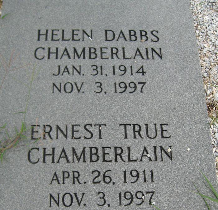 Ernest True Chamberlain