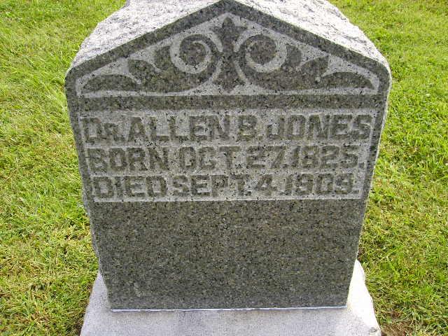 Dr Allen B Jones