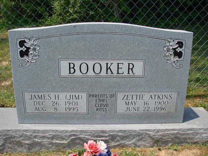 Zettie Magnolia <i>Atkins</i> Booker