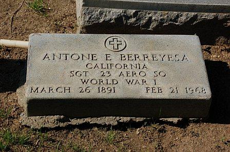 Antone Elmer Berreyesa