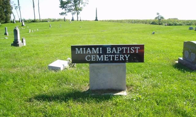 Miami Baptist Cemetery