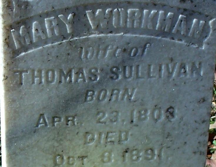 Mary Polly <i>Workman</i> Sullivan