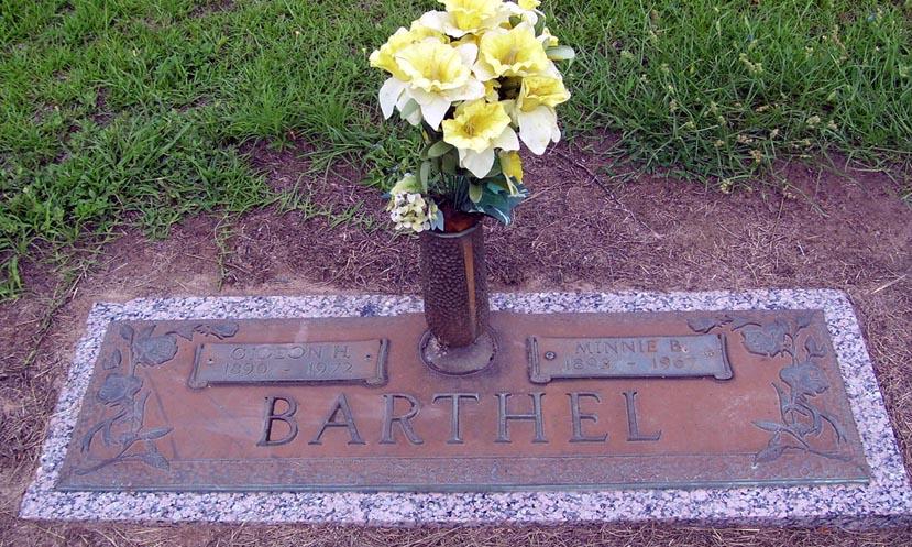 Minnie Belle <i>Douthit</i> Barthel