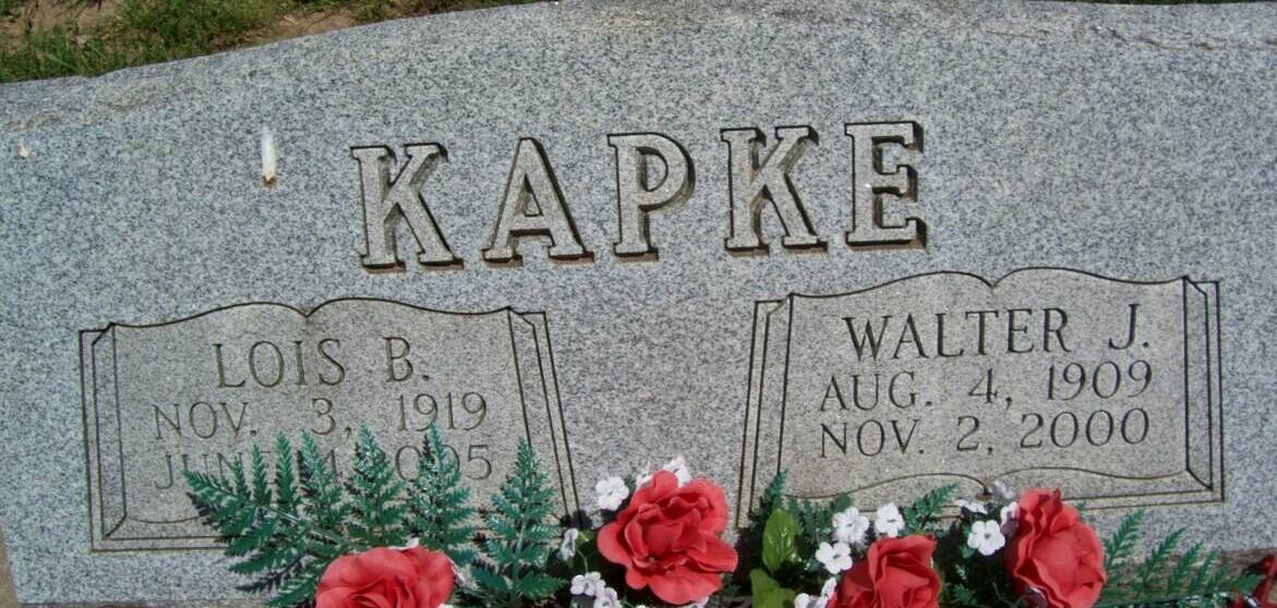Walter Johann Theodore John Kapke