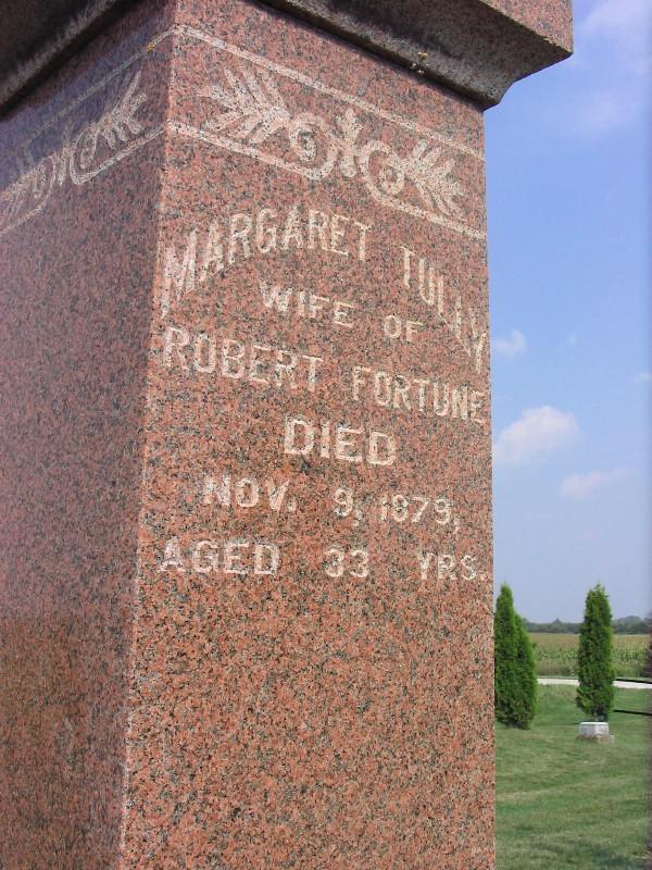 Margaret <i>Tully</i> Fortune