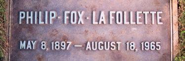 Philip Fox La Follette