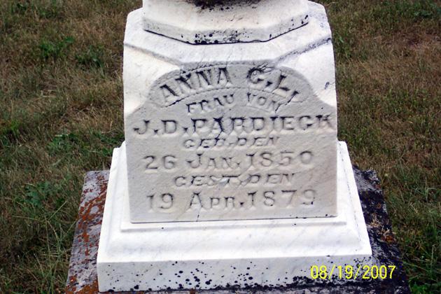 Anna Charlotte Louisa <i>Averwerser</i> Pardieck