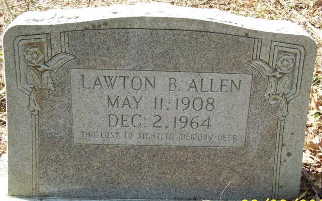 Lawton B Allen